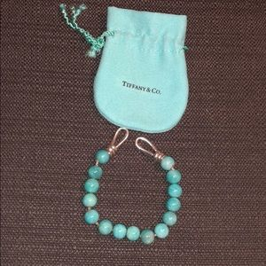 100% Authentic Tiffany & co beaded bracelet